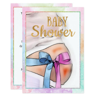 Expectant Mother Baby Shower Invitation