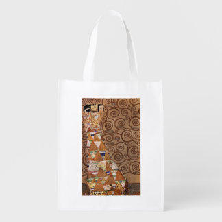 Expectation Beautiful Woman Reusable Grocery Bag