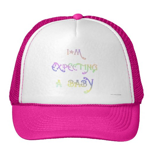 Expecting A Baby Trucker Hats