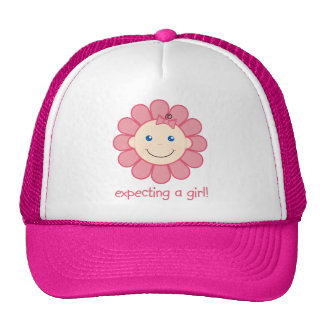 Expecting a Girl Mesh Hats
