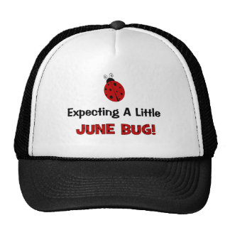 Expecting A Little June Bug Maternity Trucker Hat