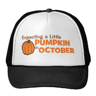Expecting A Little Pumpkin In October Trucker Hat