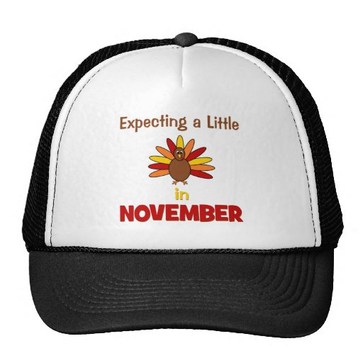 Expecting A Little Turkey in November! Trucker Hat