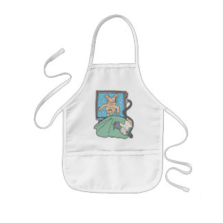 Expecting Baby Girl Gift Kids Apron