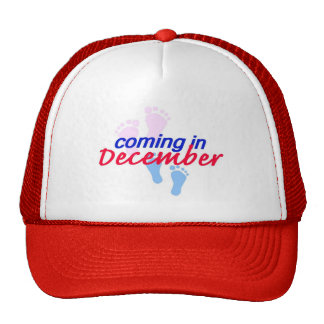 Expecting DECEMBER Hat