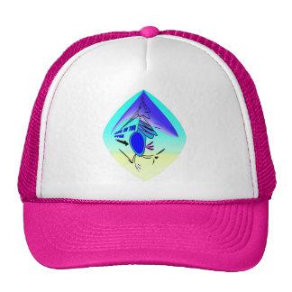 EXPECTING JOGGING STORK CAP TRUCKER HAT