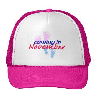 Expecting NOVEMBER Hat