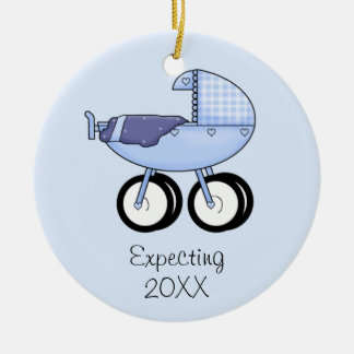 Expecting Ornament (Blue)