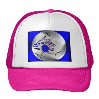 EXPECTING STORK SPOTLIGHT RUNNER CAP TRUCKER HAT