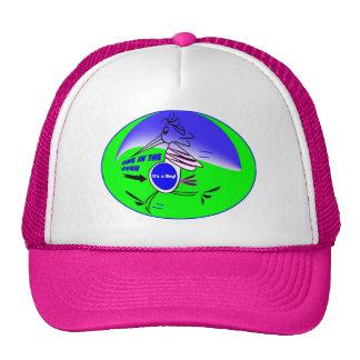EXPECTING STORK STORK PARK RUN CAP TRUCKER HAT