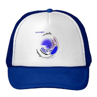 EXPECTING STORK  STORK TWIRL CAP TRUCKER HAT
