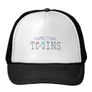 EXPECTING TWINS TRUCKER HAT