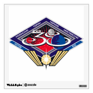 Expedition Crews to the ISS:  Expedition 38 Wall Decal
