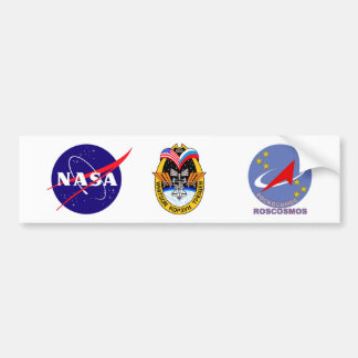 Expedition Crews to the ISS:  Expedition 5 Bumper Sticker