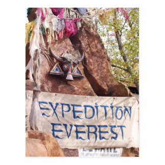 Expedition Everest Postcard