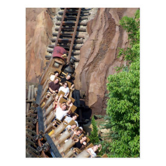 Expedition Everest Roller Coaster Postcard