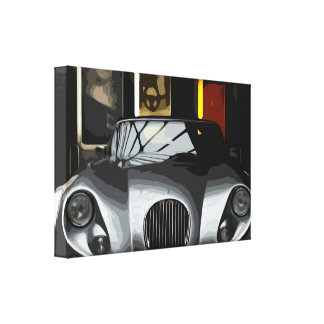 Expensive High-Class Car Stationwagon in Garage Canvas Print