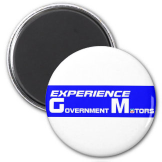 Experience Government Motors Magnet