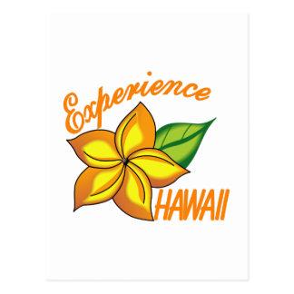 Experience Hawaii Postcard