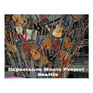 Experience Music Project - Seattle Postcard