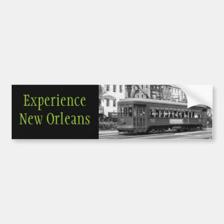 Experience New Orleans Bumper Sticker