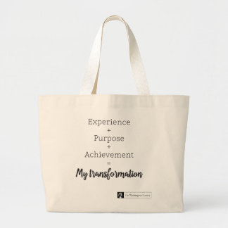Experience + Purpose + Achievement Tote