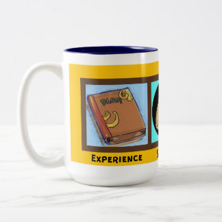 Experience strength and hope Two-Tone coffee mug