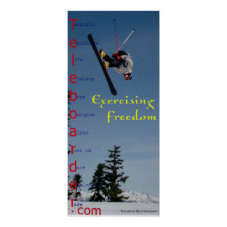 Experiencing Freedom Poster
