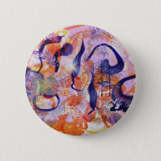 Experimental forest 2 inch round button