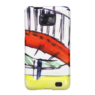 Experimentation of Colour Galaxy S2 Covers