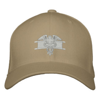 Expert Field Medical Badge Embroidered Baseball Caps