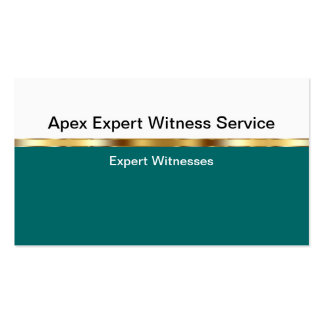 Expert Witness Business Cards