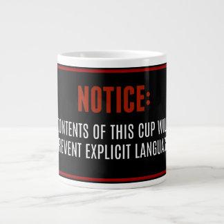 Explicit Language Mug