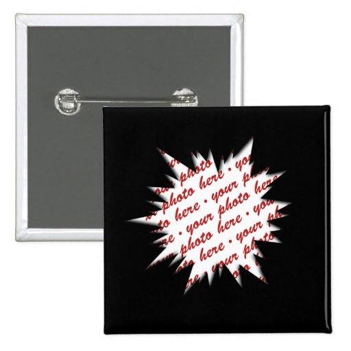 EXPLODE Template Photo Frame (Black) Pin