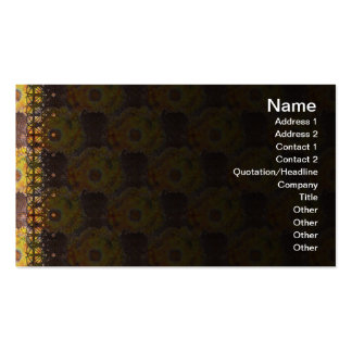 Exploding Clouds Double-Sided Standard Business Cards (Pack Of 100)