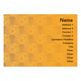 Exploding Clouds Business Card Template