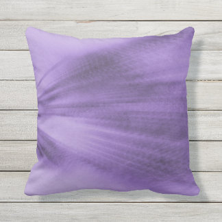 Exploding Lavender Throw Pillow