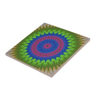 Exploding mandala star tiles