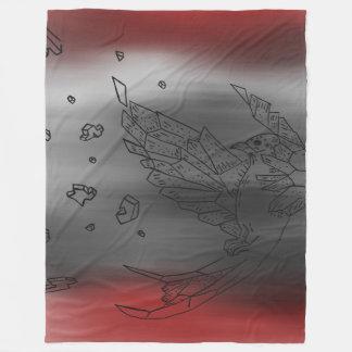 Exploding Origami Bird Blanket