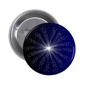 Exploding Sky Rocket 2 Inch Round Button