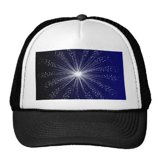 Exploding Sky Rocket Trucker Hat