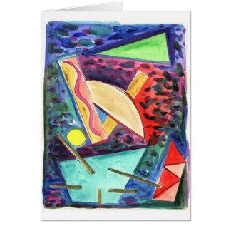 Exploration of a Space Primitive No. 16 Card
