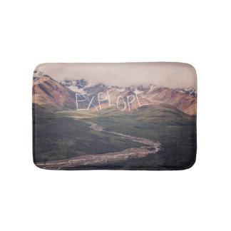 Explore Alaskan Landscape | Bath Mat