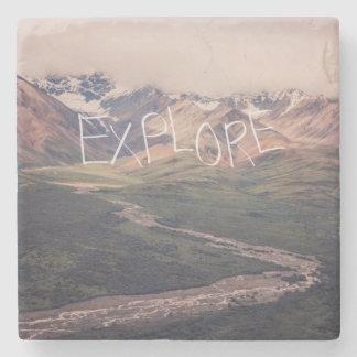 Explore Alaskan Landscape | Coaster Stone Coaster