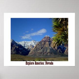 Explore America : Nevada Poster