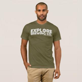 Explore Brewing T-Shirt (white print)