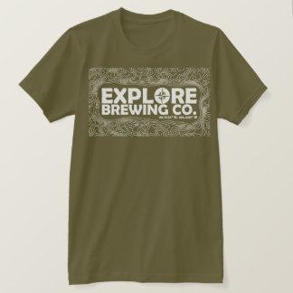 Explore Brewing (white print) T-Shirt