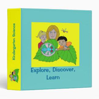 Explore, Discover, Learn Vinyl Binders