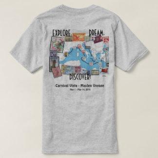 Explore, Dream, Discover - Carnival Vista T-Shirt