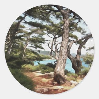 Explore Dream Discover Classic Round Sticker